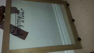 Picture insert frame