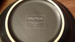 Nautica Artic Nights Tableware Excellent Condition 8 settings Cambridge Kitchener Area image 2