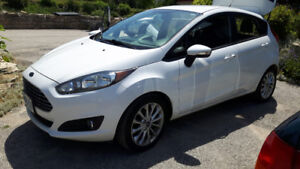 2014 White Ford Fiesta - Excellent Condition