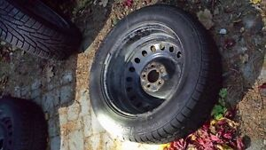 215/60r17 Winter Tires With Rings Cambridge Kitchener Area image 6
