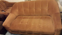 Sofas and Coffee table - free