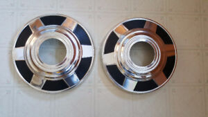 GMC/Chevy  4 X 4 Front Dog Dish Hubcaps - 3/4 ton