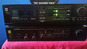 kenwood amp and tape deck