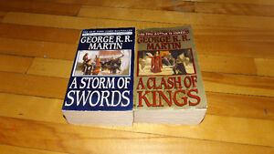 2000 Version Game of Thrones books.