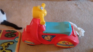Fisherprice laugh and learn scooter, vtech sit to stand walker,