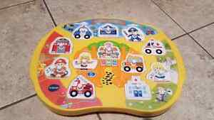 VTech match and explore City