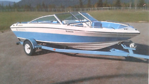 Four Winns boat and trailer