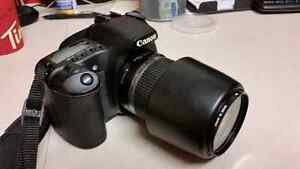Canon 30d with lens and bag