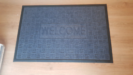 Like new - large heavy duty welcome mat