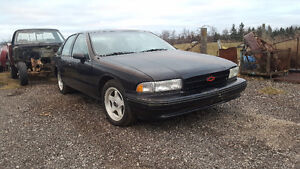 1994 Chevrolet Impala Ss Sedan x2  one good  one parts car