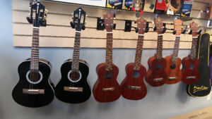 Brand new Concert and  soprano  ukuleles