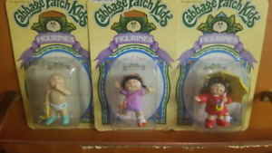 Cabbage patch figurines