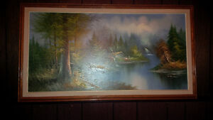 Series Of Mountains Paintings Strathcona County Edmonton Area image 5