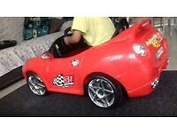 Red Ferrari kids Ride on Car