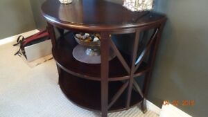End tables and side table