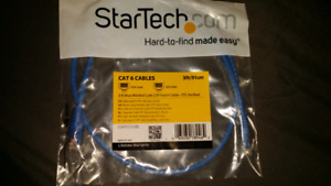 3 ft blue molded CAT 6 UTP patch cables for sale