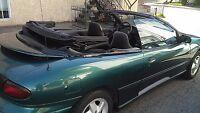 1997 Pontiac couvertible sunfire