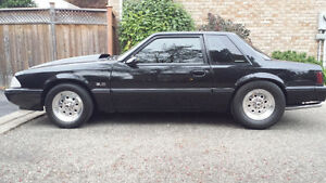1988 MUSTANG LX 5.0 SUPERCHARGED - SELL OR TRADE