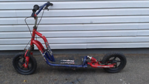 forsale: push scooter with suspension