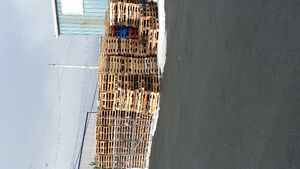 firewood  and project pallets