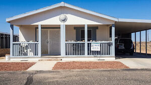 Enjoy your MOUNTAIN VIEW in Yuma, AZ 55Plus Community Coyote 209