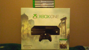Xbox One + 7 games