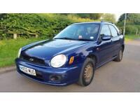 Subaru Impreza 1.6 TS AWD ESTATE 97000 MILES BARGAIN £550