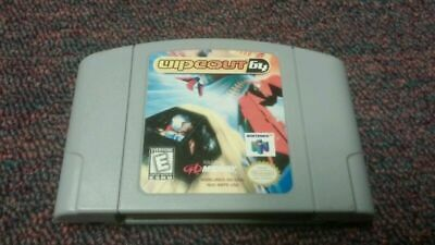 Wipeout 64 (Nintendo 64, 1998) N64