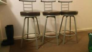 Selling great condition rotating bar stools North Strathfield Canada Bay Area Preview