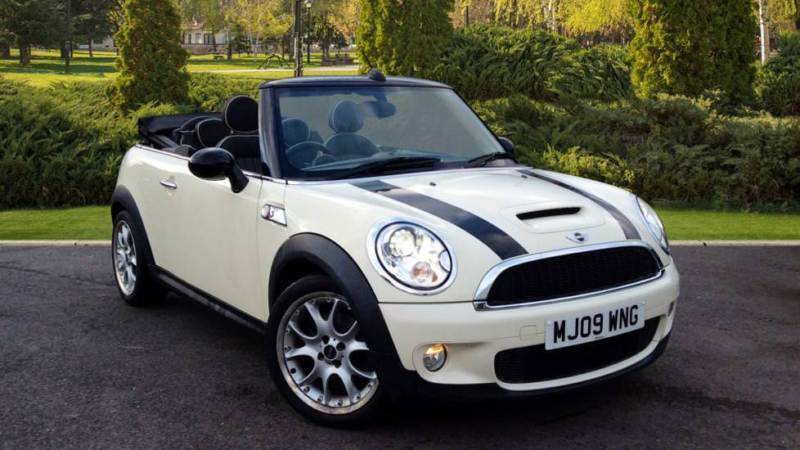 2009 Mini Cooper 1.6 Cooper S 2dr Manual Petrol Convertible