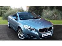 Volvo C70 2.0D4 SE Lux Manual Convertible Blue Metallic 2012