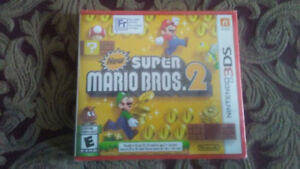3DS Super Mario Bros.2  (Brand new, unopened)