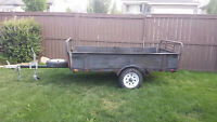 8' Utility, Dirt Bike, ATV Trailer