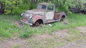 Wanted tailgate 46 gmc
