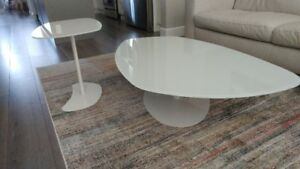 CONTEMPORARY COFFEE AND END TABLE