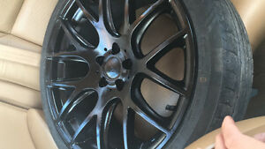 "18"" Dai rims with tires"
