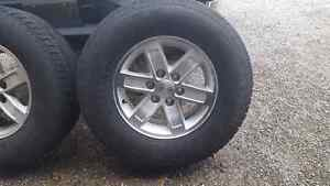 Factory GMC wheels and tires Kitchener / Waterloo Kitchener Area image 1