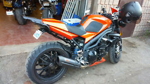 Very clean 2008 Triumph SpeedTriple with low mileage