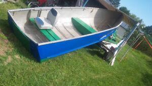 bateau avec moteur 20 hp mercury