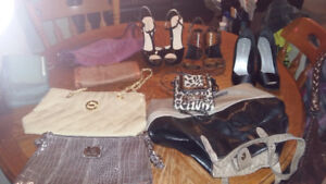 LADIES small/med DRESSES/SHOES/PURSES large lot CLEAN Bug Free