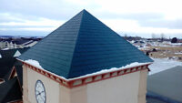 Roof top snow removal