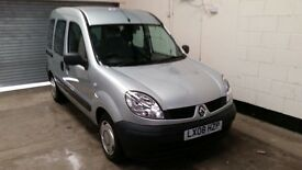 2008 Renault Kangoo 1.6 Auto Gowrings Mobility Factory Fitted Mobility Ramp Air Con 3 Month Warranty