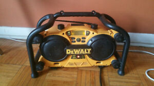 DeWalt Jobsite Radio DC011 with Battery