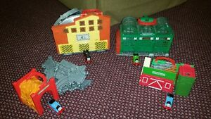 4 Thomas Take and Play sets LOT