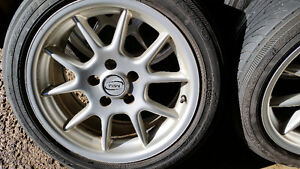 4 NEW Rims and Yokohama ES100 Tires