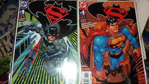 ******* SUPERMAN/BATMAN COMIC BOOK *******