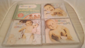 Various audio CD's - Sleep aid, Nursery Rhymes, waking up