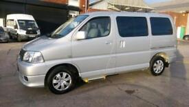 2009 58 TOYOTA HI-ACE 2.5 250 D-4D 4D 116 BHP MPV 4 SEATER WITH TAIL LIFT F/S/H