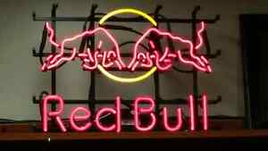 NEW PRICE$299  RED BULL NEON SIGN ( VERY RARE )SIGN $299.0