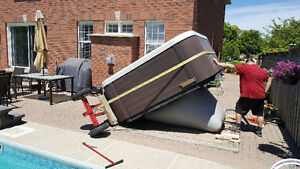 Hot tub Moving and  removal service!!